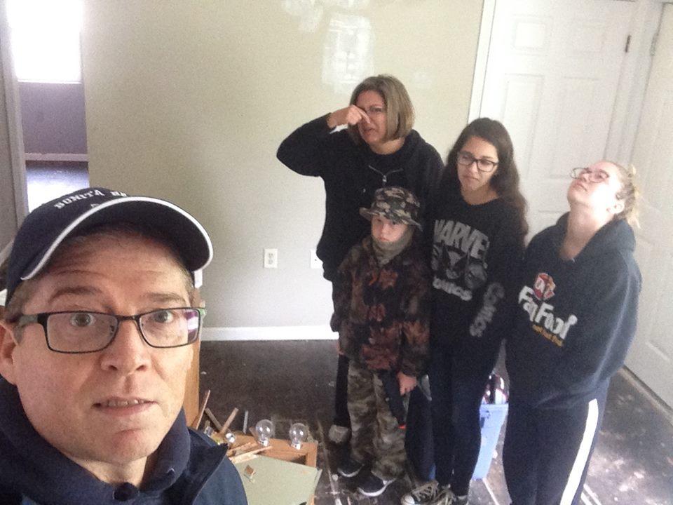 Family flip day