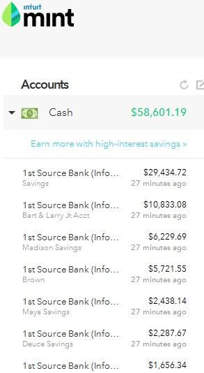 May 25 Cash