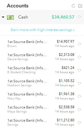 Oct 31 Cash Balance